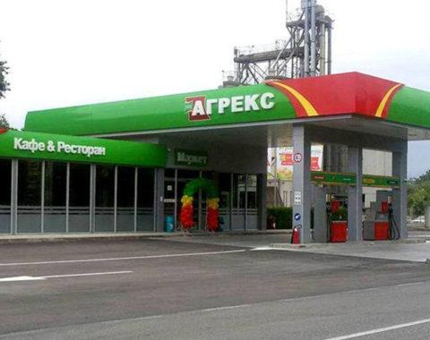 Benzinska pumpa, market, kafe i restoran